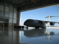 C-17 Hanger Place Entrance - Travis Air Force Base
